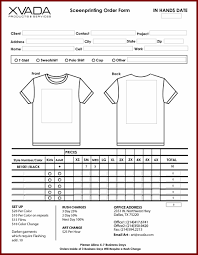 template word order form template free download google search