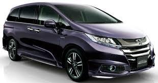 Honda Odyssey Pics Honda Odyssey Hybrid On Sale In Japan
