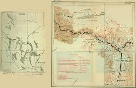 Western Montana Map by Usgs Geological Survey Bulletin 611 Contents