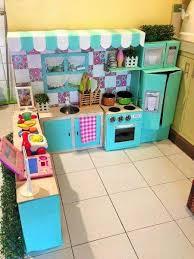 jouet de cuisine pour fille comment faire une mini cuisine en cartons pour votre bambin