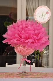 baby shower table centerpiece ideas pretty and paisley 1st birthday party centerpieces baby shower