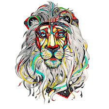 lion head tattoo design