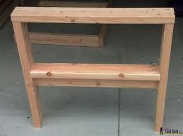 build your own outdoor table diy outdoor seating her tool belt
