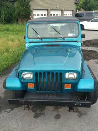 jeep removable top 1992 teal blue jeep wrangler with removable top