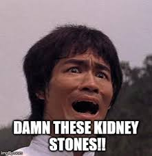 Kidney Stones Meme - even the master can be beaten imgflip