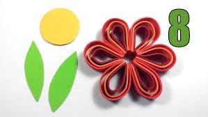 flores de foamy diy flores de goma eva una manualidad muy fácil y bonita