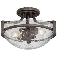 Bronze Ceiling Light Lilah 12 1 2