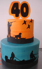 hunting u0026 fishing silhouettes st louis custom cakes cake