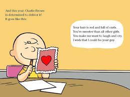 brown valentines happy s day brown peanuts