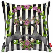 Black And White Striped Chair by Online Get Cheap Black White Stripe Cushion Cover Aliexpress Com