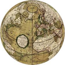 globe earth maps rumsey historical maps