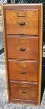 Oak File Cabinet 4 Drawer Antique Furniture Aubrey U0027s Antiques