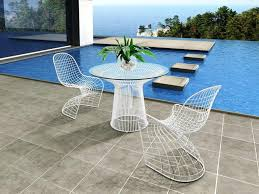 Upholstery Outdoor Furniture by Modern Furniture Modern Metal Outdoor Furniture Large Marble