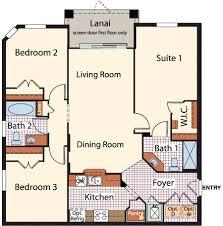 2 Bed 2 Bath House Plans 2 Bedroom 2 Bath Condo Floor Plans Home Design Mannahatta Us