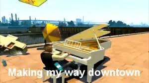 Making My Way Downtown Meme - gta iv making my way downtown youtube