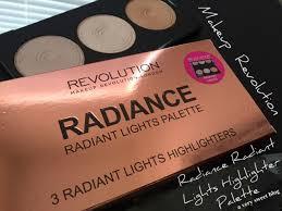 makeup revolution radiant lights makeup revolution radiance radiant lights palette review and
