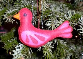 felt bird decorations u2013 made by toya