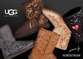 ugg boots sale at nordstrom custom painting of ugg australia boots at nordstroms drew brophy