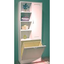 Cabinet For Bathroom by Corner Linen Cabinet With Hamper Best Home Furniture Decoration