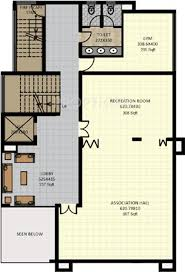 floor plan for gym 1275 sq ft 3 bhk 3t apartment for sale in sreerosh belvedere