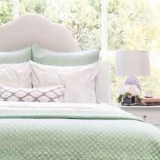 green quilt and sham cloud seafoam green crane u0026 canopy