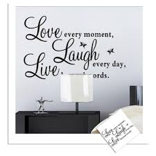 Live Love Laugh Home Decor Large Wall Stickers For Living Room Lilalicecom With Best Large