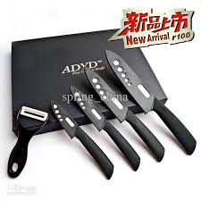 kitchen knives sets ceramic knife set kitchen knife 3 4 5 6 knives peeler gift