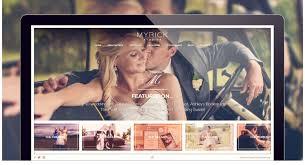 Photography Websites Wedding Photography Website Myrick Cowart