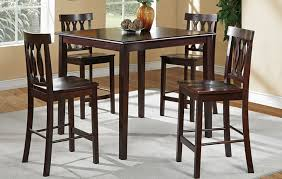 Dining High Chairs High Chair Dining Table Set High Top Kitchen Table And