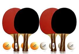 professional table tennis racket qoo10 performance 6 star ping pong paddle set professional table