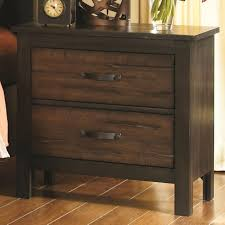 beautiful black wood nightstand delia night table made of mango