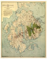 Map Of Southwest United States by Acadia National Park On The Map U2013 1776 1960 Old Maps Of Mount