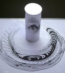 make it art talk anamorphic drawings