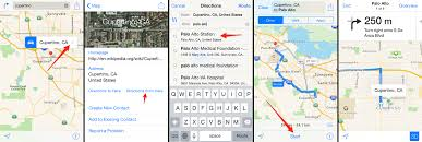 maps and directions get driving directions with apple maps