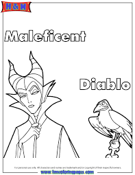 free printable maleficent coloring pages h u0026 m coloring pages