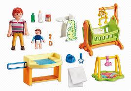 chambre de bébé playmobil playmobil maison 5304 chambre de bébé avec berceau