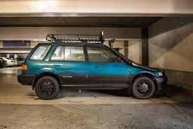 the street peep 1990 honda civic wagon