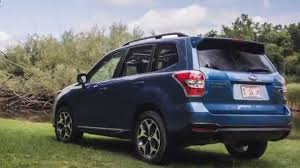 blue subaru forester 2015 2015 nissan rogue vs 2016 subaru forester youtube