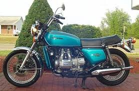 1975 honda gold wing u2013 candy blue green precision motorcycle
