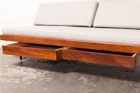 mid century modern daybed with trundle all modern home designs