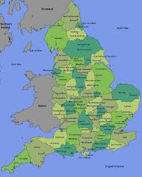 Cheshire England Map by The Foods Of England Counties