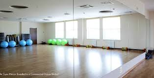 Floor To Ceiling Mirror by Gym Mirror Installation Guide Diy Home Dance Studio