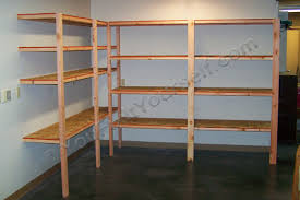 Building Wood Shelves 2x4 by How To Build Basic Garage Storage Shelving Handyman Tips And