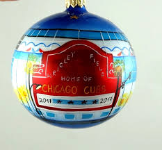 chicago wrigley field 2017 ornament mys970