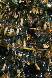Decorated Christmas Tree Hire by Christmas Tree Hire Black U0026 Gold Christmas Tree Christmas