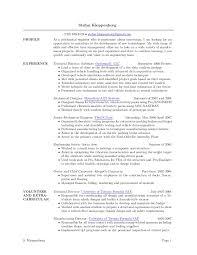 Sample Resume For Engineering Internship by Automotive Test Engineer Sample Resume 20 Innovation Design