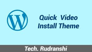 wordpress quick tutorial wordpress install update new theme quick video tutorial youtube