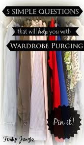 closet cleaning 5 questions that will help you with wardrobe purging the closet