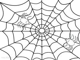 coloring pages spider printable charlottes spider