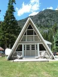 a frame style homes grantview a frame home front of home from houseplansandmore
